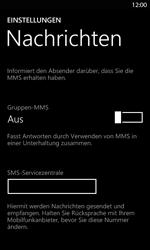 Nokia Lumia 820 LTE - SMS - Manuelle Konfiguration - Schritt 5