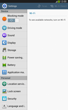 Samsung Galaxy Tab 3 8-0 LTE - Applications - How to uninstall an app - Step 4