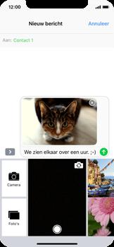 Apple iPhone X - MMS - Afbeeldingen verzenden - Stap 14