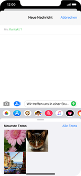 Apple iPhone 11 Pro Max - MMS - Erstellen und senden - Schritt 13