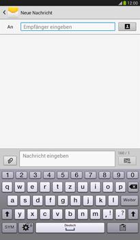 Samsung T211 Galaxy Tab 3 7-0 - MMS - Erstellen und senden - Schritt 7