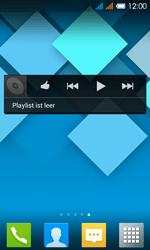 Alcatel One Touch Pop C3 - Startanleitung - installieren von Widgets und Apps auf der Startseite - Schritt 6