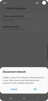 Samsung Galaxy S10 - Network - Manual network selection - Step 8