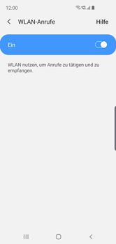 Samsung Galaxy S10e - WiFi - WiFi Calling aktivieren - Schritt 8