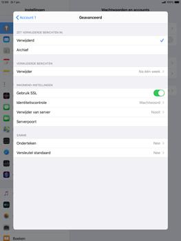 Apple ipad-air-10-5-inch-2019-model-a2123-ipados-13 - E-mail - Account instellen (POP3 met SMTP-verificatie) - Stap 22