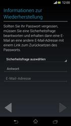 Sony Xperia V - Apps - Einrichten des App Stores - Schritt 13