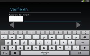 Samsung P5220 Galaxy Tab 3 10-1 LTE - Applicaties - Account aanmaken - Stap 19