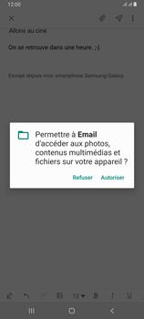 Samsung Galaxy A80 - E-mails - Envoyer un e-mail - Étape 14