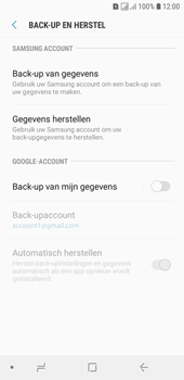 Samsung galaxy-j6-sm-j600fn-ds - Instellingen aanpassen - Back-up maken in je account - Stap 6