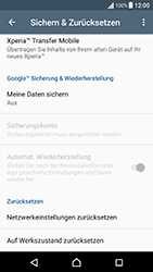 Sony F8131 Xperia X Performance - Fehlerbehebung - Handy zurücksetzen - Schritt 7