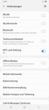 Samsung Galaxy A80 - Internet und Datenroaming - Prüfen, ob Datenkonnektivität aktiviert ist - Schritt 5