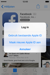 Apple iPhone 4S (iOS 9) - apps - account instellen - stap 8