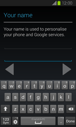 Samsung Galaxy Express - Applications - Setting up the application store - Step 6