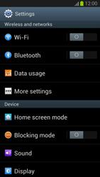 Samsung Galaxy S III - WiFi - WiFi configuration - Step 4