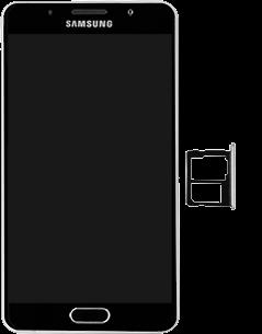 Samsung Galaxy A5 (2016) - SIM-Karte - Einlegen - 3 / 8