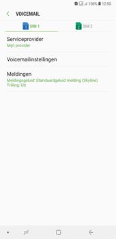 Samsung Galaxy A7 (2018) - voicemail - handmatig instellen - stap 8