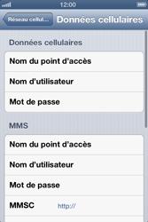 Apple iPhone 4S - Internet et roaming de données - Configuration manuelle - Étape 8