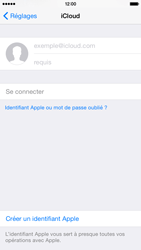 Apple iPhone 6 iOS 8 - Applications - Configuration du service iCloud d