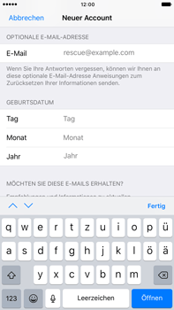 Apple iPhone 7 Plus - Apps - Konto anlegen und einrichten - 0 / 0