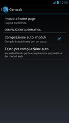 Alcatel One Touch Idol - Internet e roaming dati - configurazione manuale - Fase 23