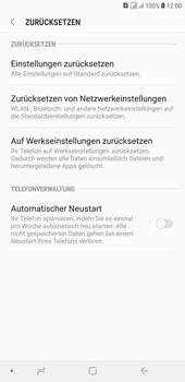 Samsung Galaxy J4+ - Fehlerbehebung - Handy zurücksetzen - Schritt 8