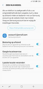 Samsung Galaxy Note 8 - Beveiliging en privacy - zoek mijn mobiel activeren - Stap 9