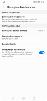 Huawei Mate 20 lite - Aller plus loin - Gérer vos données depuis le portable - Étape 13