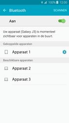 Samsung J320 Galaxy J3 (2016) - Bluetooth - headset, carkit verbinding - Stap 8