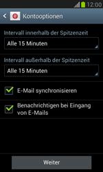 Samsung I8190 Galaxy S3 Mini - E-Mail - Konto einrichten - Schritt 14