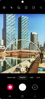 Samsung Galaxy Note20 - Photos, vidéos, musique - Créer une vidéo - Étape 6