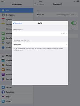 Apple iPad Pro 9.7 - iOS 10 - E-mail - e-mail instellen: IMAP (aanbevolen) - Stap 20