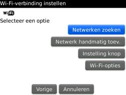 BlackBerry 9300 Curve 3G - wifi - handmatig instellen - stap 6