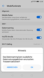 Huawei P10 - Ausland - Im Ausland surfen – Datenroaming - 8 / 11
