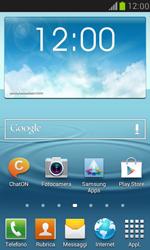 Samsung Galaxy S III Mini - Rete - Selezione manuale della rete - Fase 2