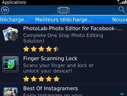 BlackBerry 9320 - Applications - Télécharger une application - Étape 8