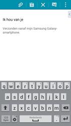 Samsung G850F Galaxy Alpha - E-mail - E-mails verzenden - Stap 10