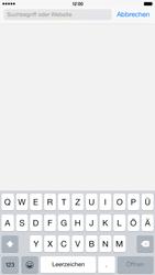 Apple iPhone 6 Plus iOS 8 - Internet und Datenroaming - Verwenden des Internets - Schritt 5