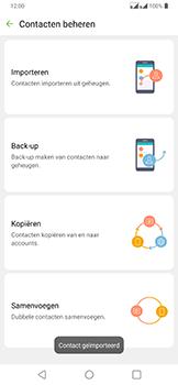 LG g7-fit-dual-sim-lm-q850emw-android-pie - Contacten en data - Contacten kopiëren van SIM naar toestel - Stap 13