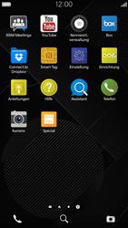 BlackBerry Leap - Anrufe - Rufumleitungen setzen und löschen - 3 / 13