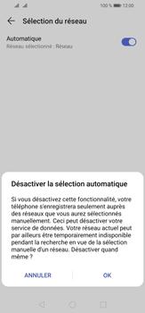 Huawei P30 Lite - Réseau - Sélection manuelle du réseau - Étape 7