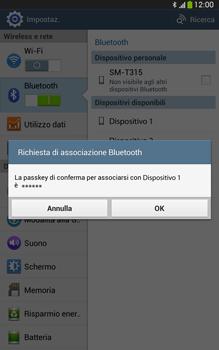 Samsung Galaxy Tab 3 8-0 LTE - Bluetooth - Collegamento dei dispositivi - Fase 7