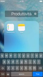 Apple iPhone 6s - Operazioni iniziali - Personalizzazione della schermata iniziale - Fase 6