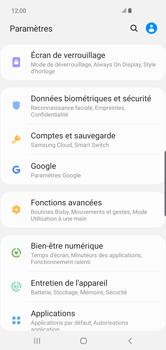 Samsung Galaxy S10 Plus - Prise en main - Comment activer un code SIM - Étape 4