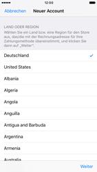 Apple iPhone 6s iOS 10 - Apps - Konto anlegen und einrichten - Schritt 9