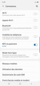 Samsung Galaxy Note 10 - Internet et connexion - Connexion avec un équipement multimédia via Bluetooth - Étape 6