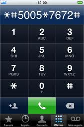 Apple iPhone 3G S - SMS - Configuration manuelle - Étape 4