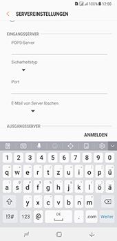 Samsung Galaxy A8 Plus (2018) - E-Mail - Konto einrichten - Schritt 11