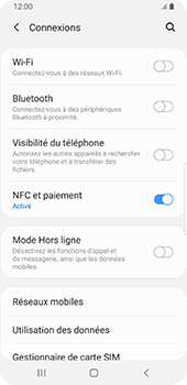 Samsung Galaxy S9 Android Pie - Wifi - configuration manuelle - Étape 4
