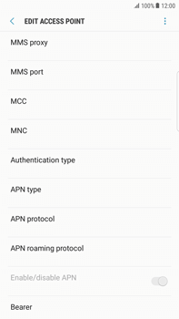 Samsung Samsung G928 Galaxy S6 Edge + (Android N) - MMS - Manual configuration - Step 13