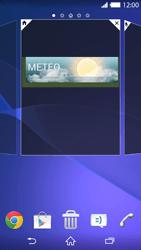 Sony Xperia Z2 - Operazioni iniziali - Installazione di widget e applicazioni nella schermata iniziale - Fase 6